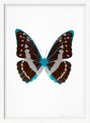 The Souls III - Chocolate Silver Gloss Topaz von Damien Hirst