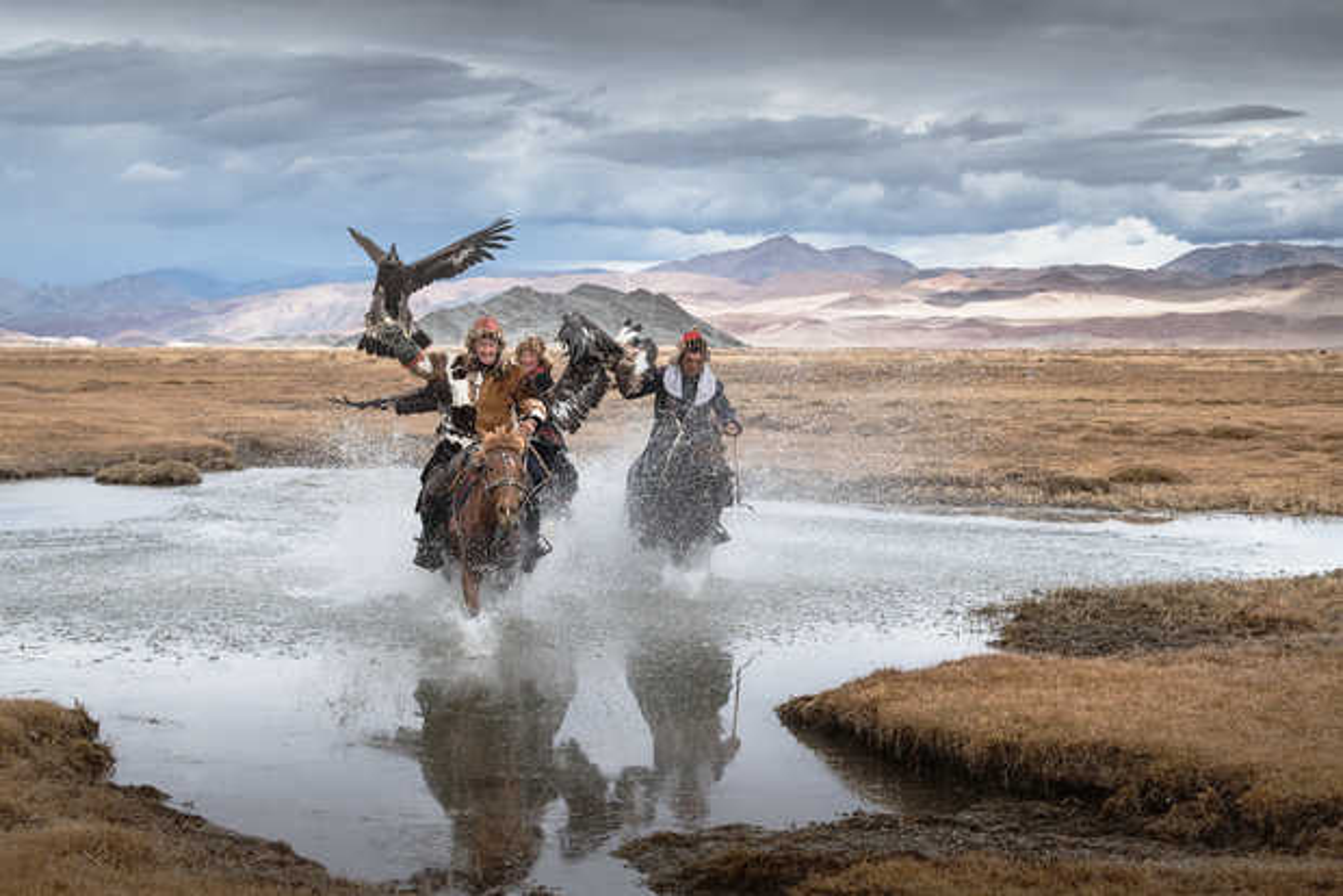 Mongolia Eagle Hunters III - Daniel Kordan