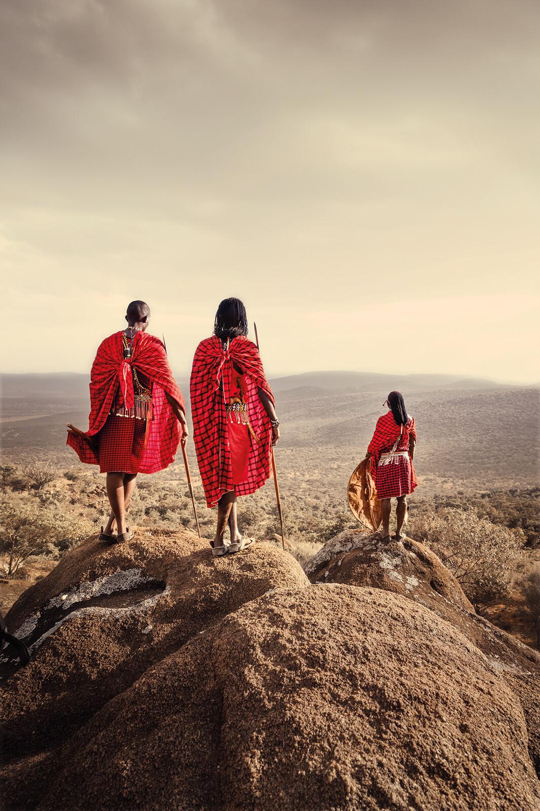 Maasai II - Daniel Kordan
