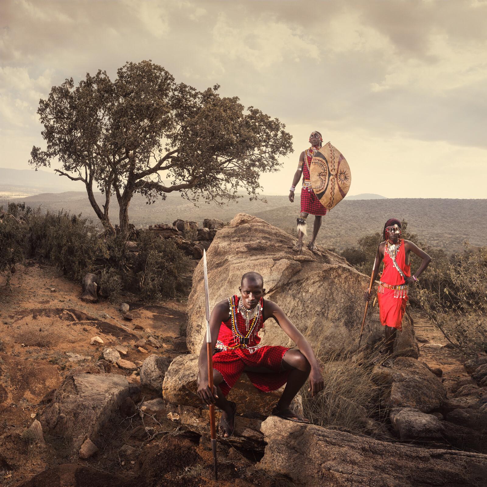 Maasai IV - Daniel Kordan
