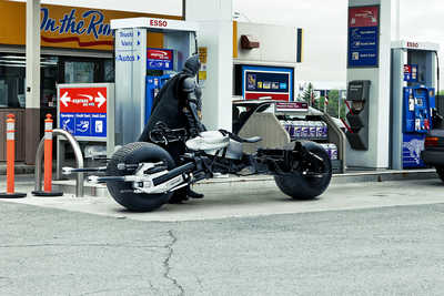 Bat-Pod at the Gas Station by Daniel Picard