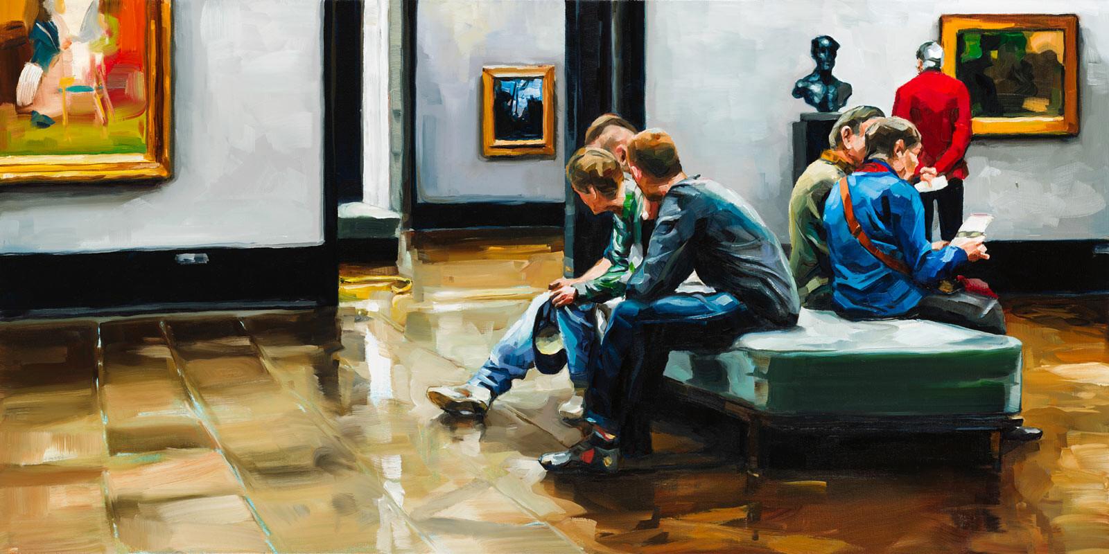 Sieben Kunstfreunde - Edward B. Gordon