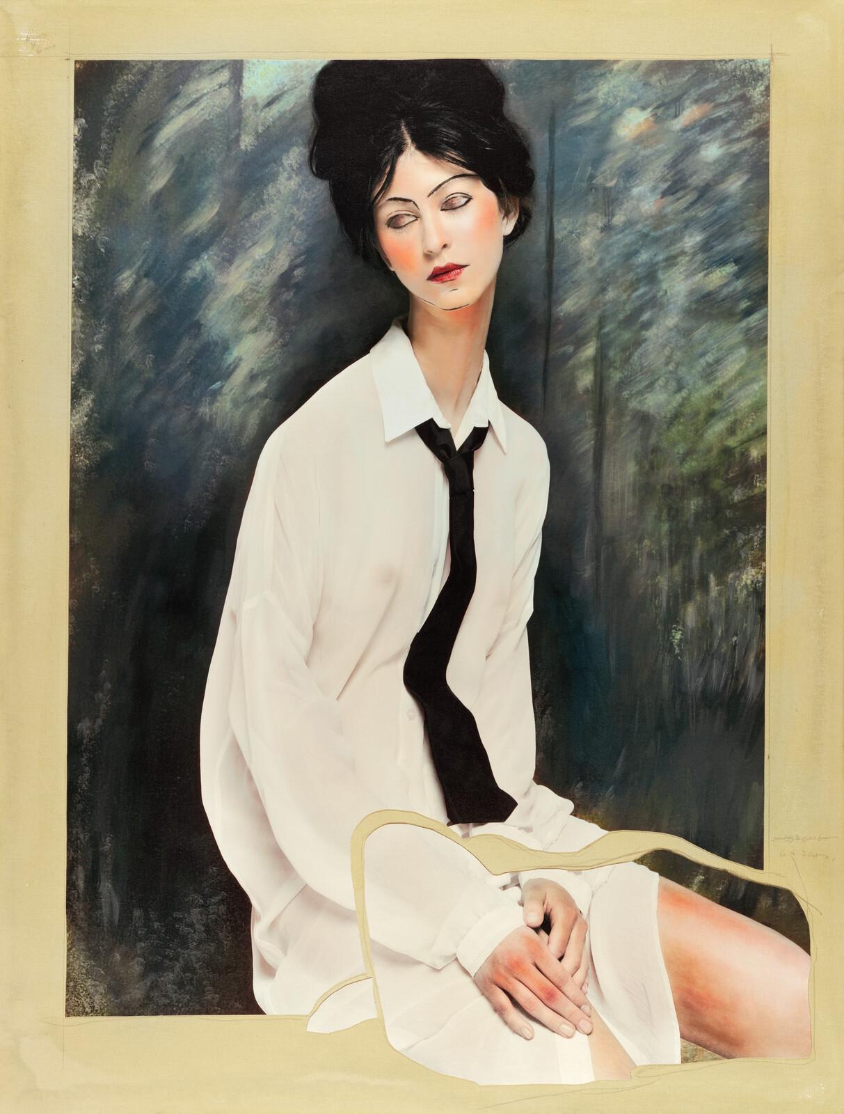 Women I (after Modigliani) - Efren Isaza