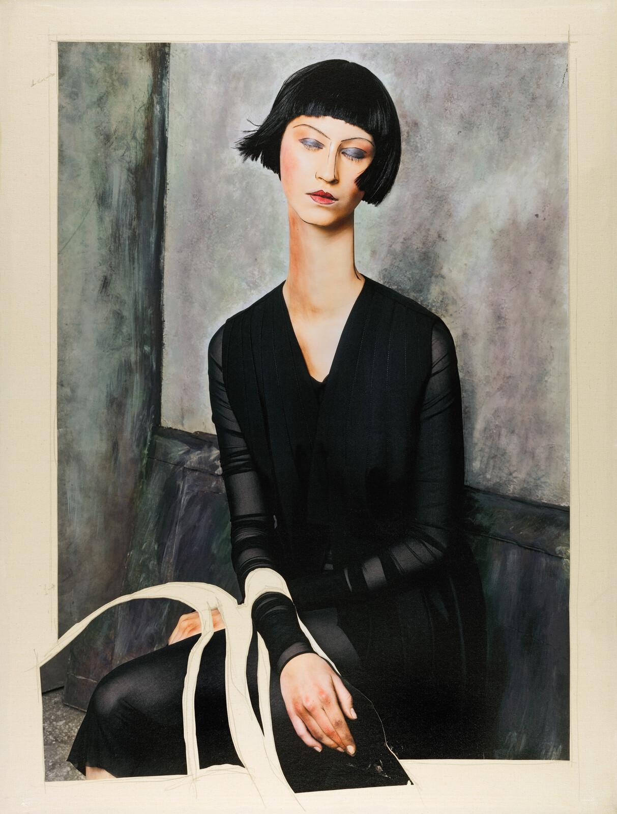 Women V (after Modigliani) - Efren Isaza