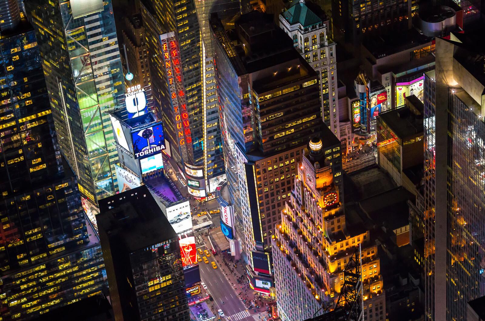 Times Square and Paramount Building's Clocktower - Evan Joseph