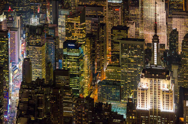 Empire State Building with Times Square - Evan Joseph