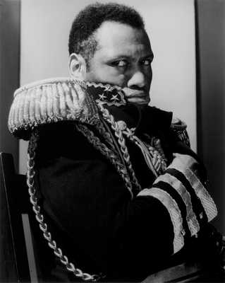 Paul Robeson by Edward Steichen
