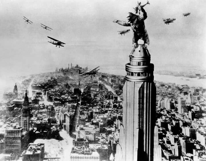 King Kong von Merian C. Cooper / Ernest B. Schoedsack