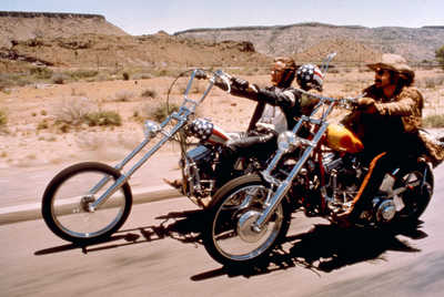 Wyatt (Peter Fonda) und Billy (Dennis Hopper) von Dennis Hopper
