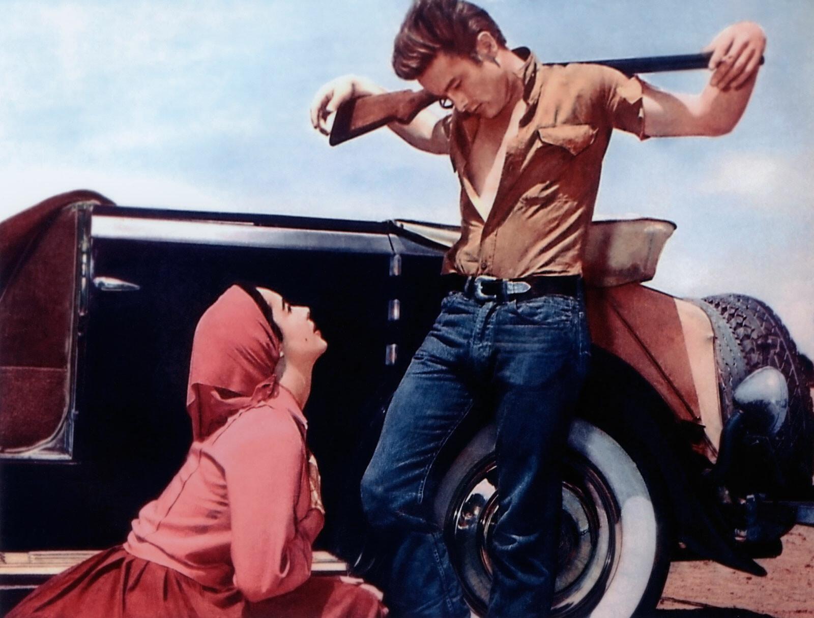 Leslie Benedict (Elizabeth Taylor) und Jett Rink ( James Dean) - George Stevens