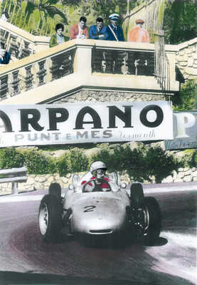 Porsche at the Formula I  by Frank M. Orel