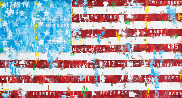 New York Flag - Freddy Reitz