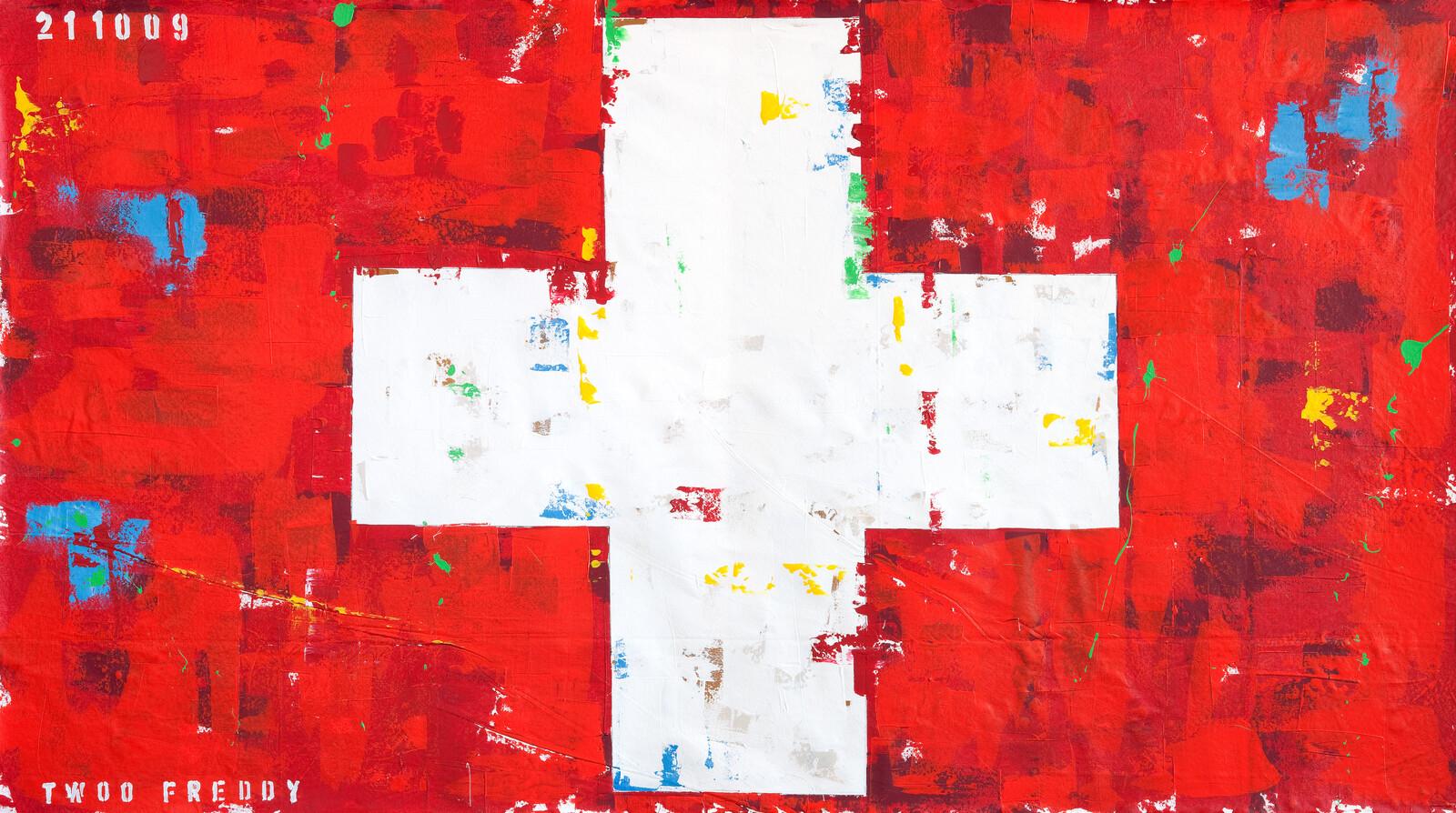 Suisse Flag - Freddy Reitz