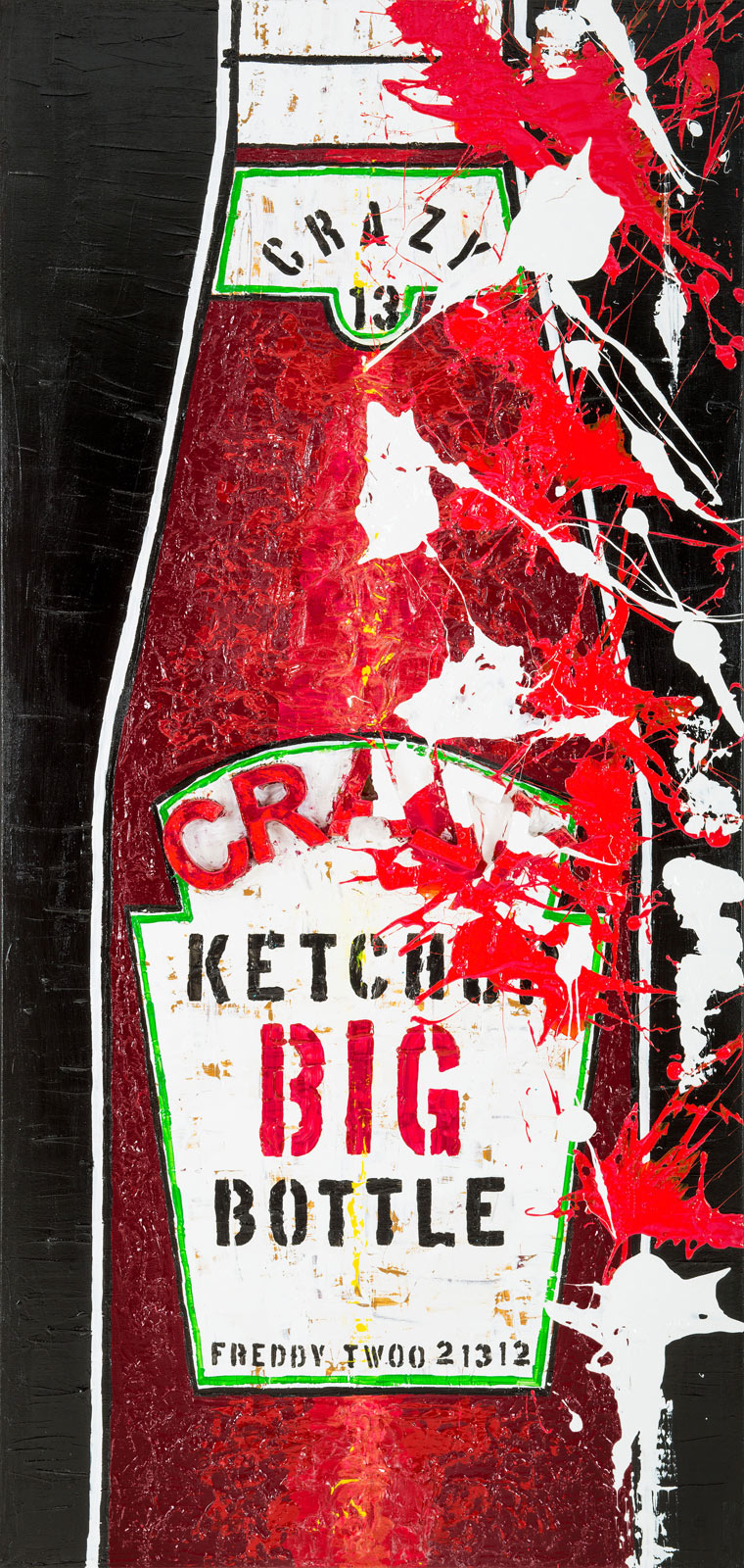Big Ketchup by Freddy Reitz