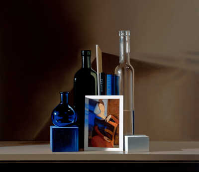 Still life with Modigliani de Guy Diehl