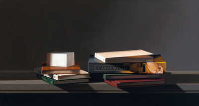 Still life with Caravaggio von Guy Diehl