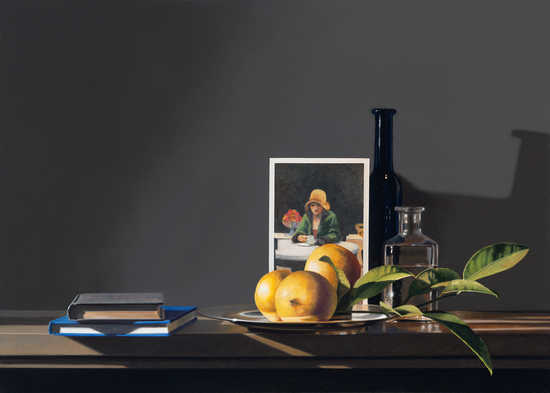 Still life with Edward Hopper