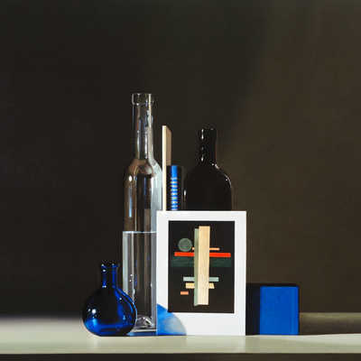 Still life with Ilya Chashnik & Suprematism de Guy Diehl
