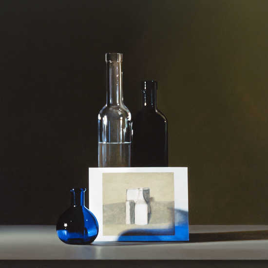Still life with Giorgio Morandi #2
