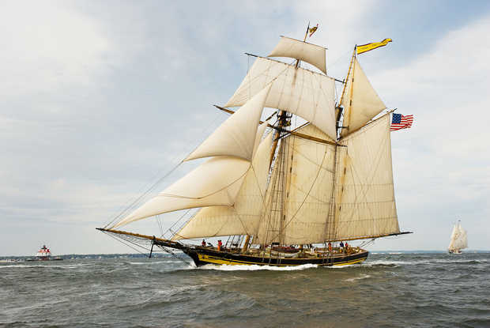 Pride of Baltimore II, Racing on the Chesapeake Bay - Greg Pease