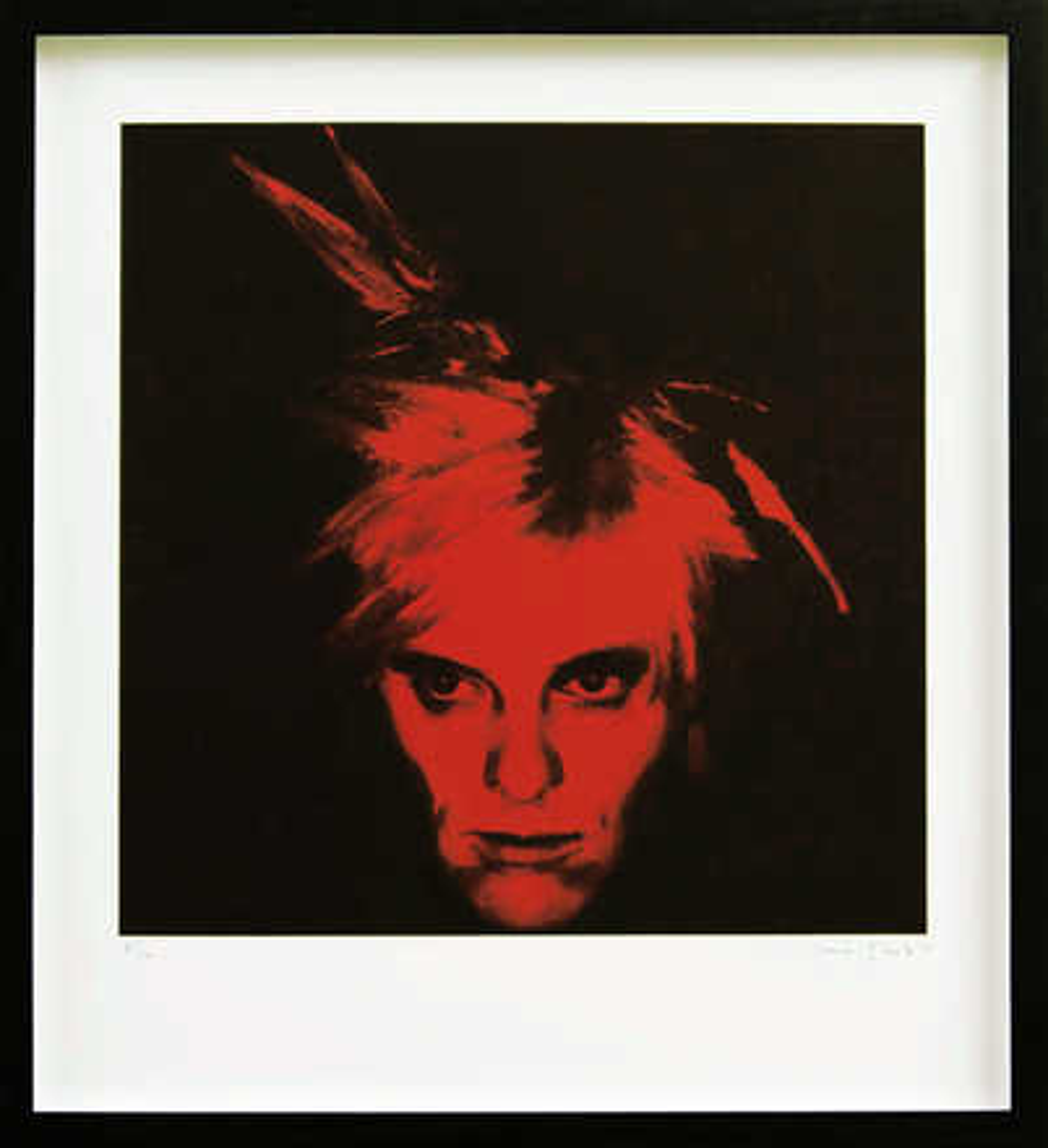Fright Wig (Red) - Gavin Turk