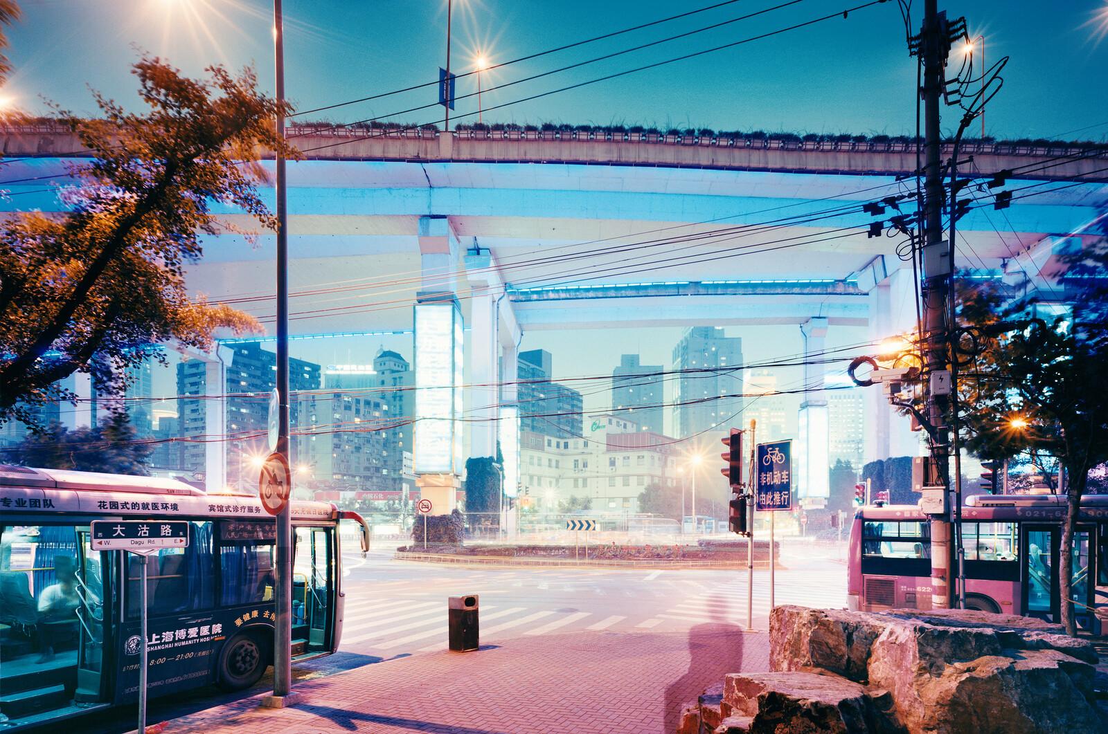 Elevated Expressway Dagu Lu/Chengdu Lu - Horst & Daniel  Zielske