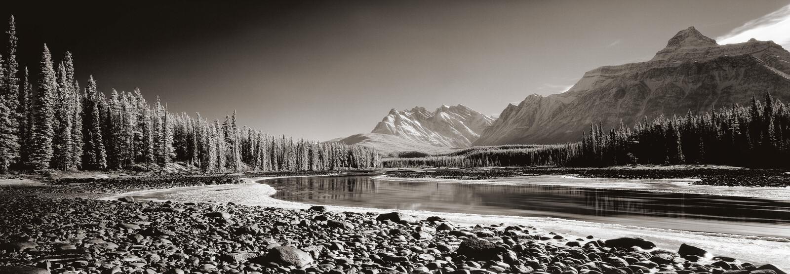 Athabasca River, Alberta, Canada - Helmut Hirler