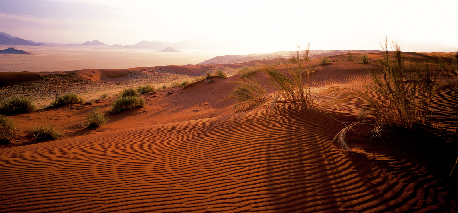 Dunes at Naukluft Park, Namibia by Horst Klemm