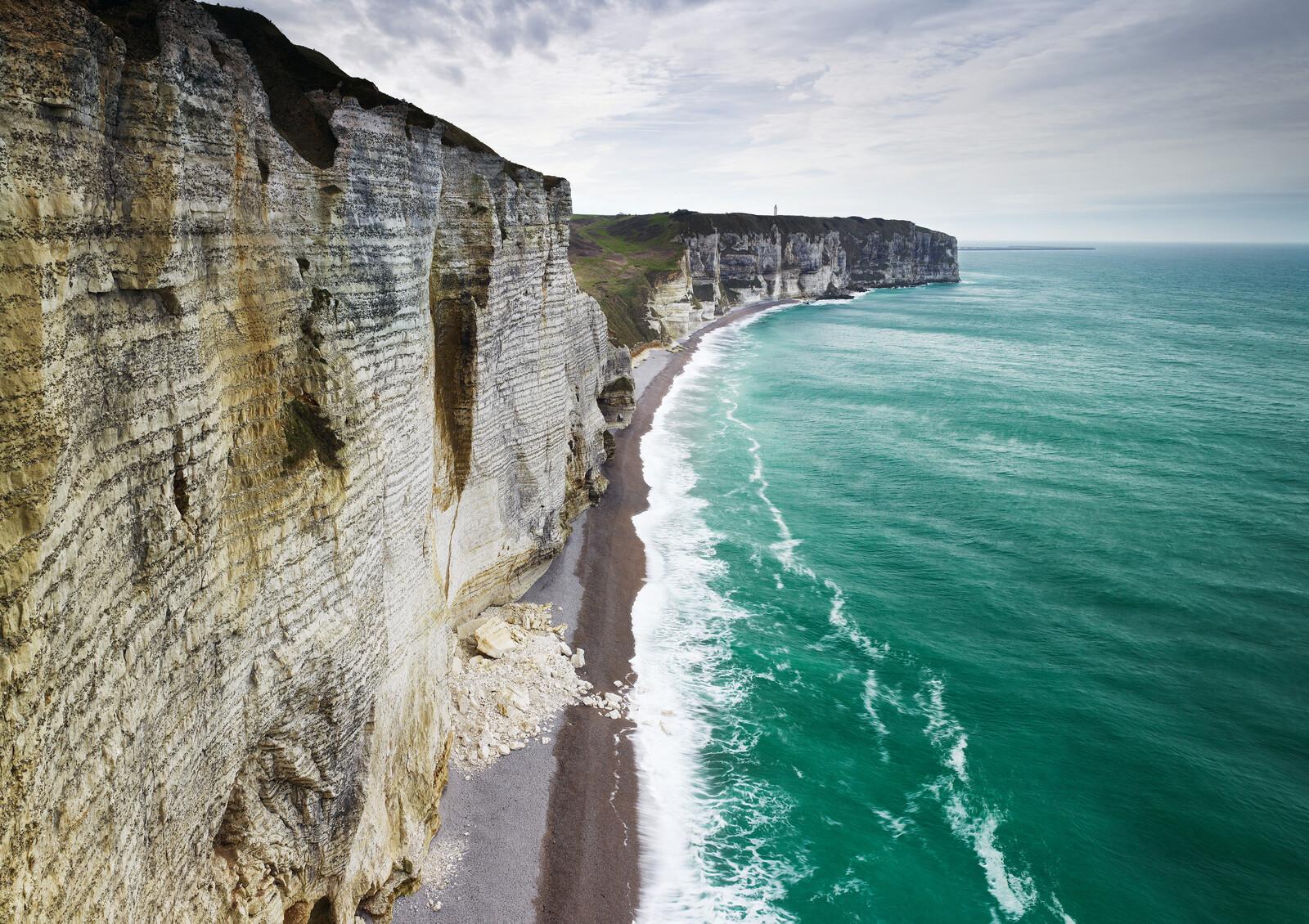 Chalk Cliffs, Normandy, France - Jonathan Andrew