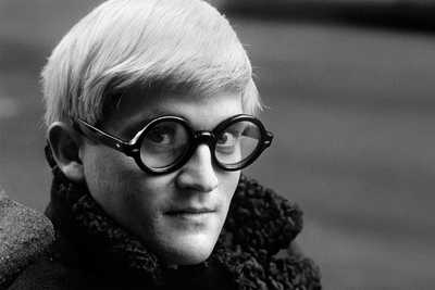 David Hockney von Jane Bown