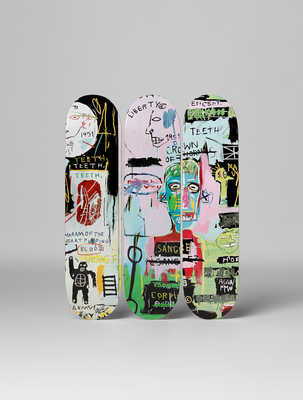 In Italian de Jean - Michel Basquiat