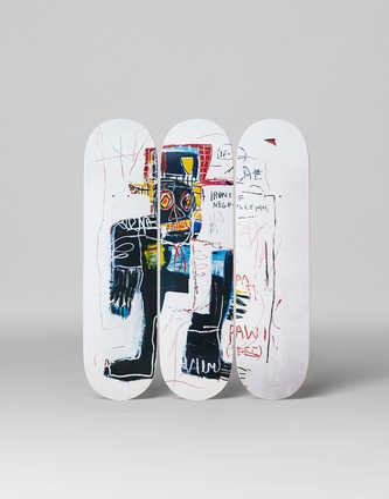 Irony of a Negro Policeman, 1981 - Jean - Michel Basquiat