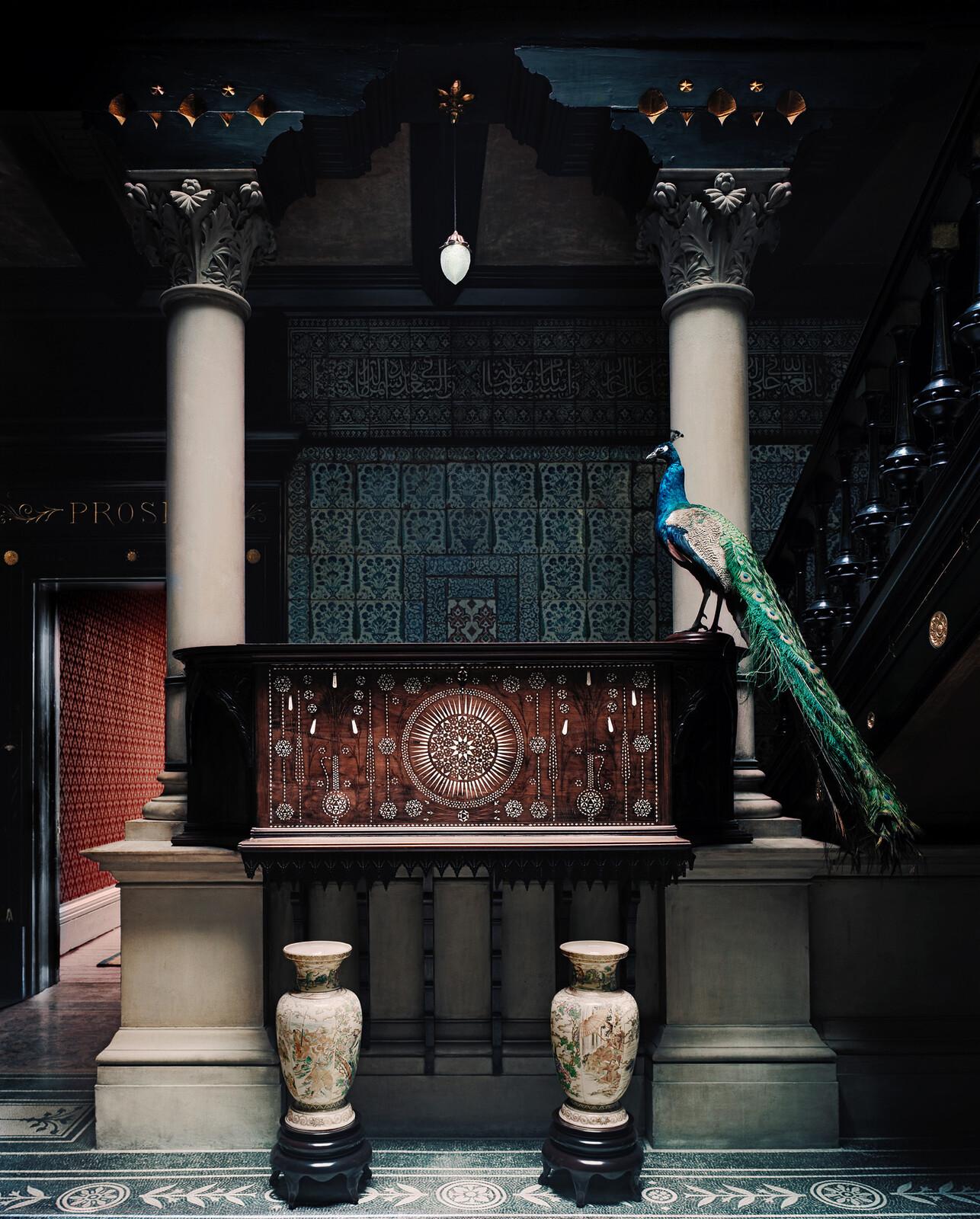 The staircase hall, Leighton House Museum - Justin Barton