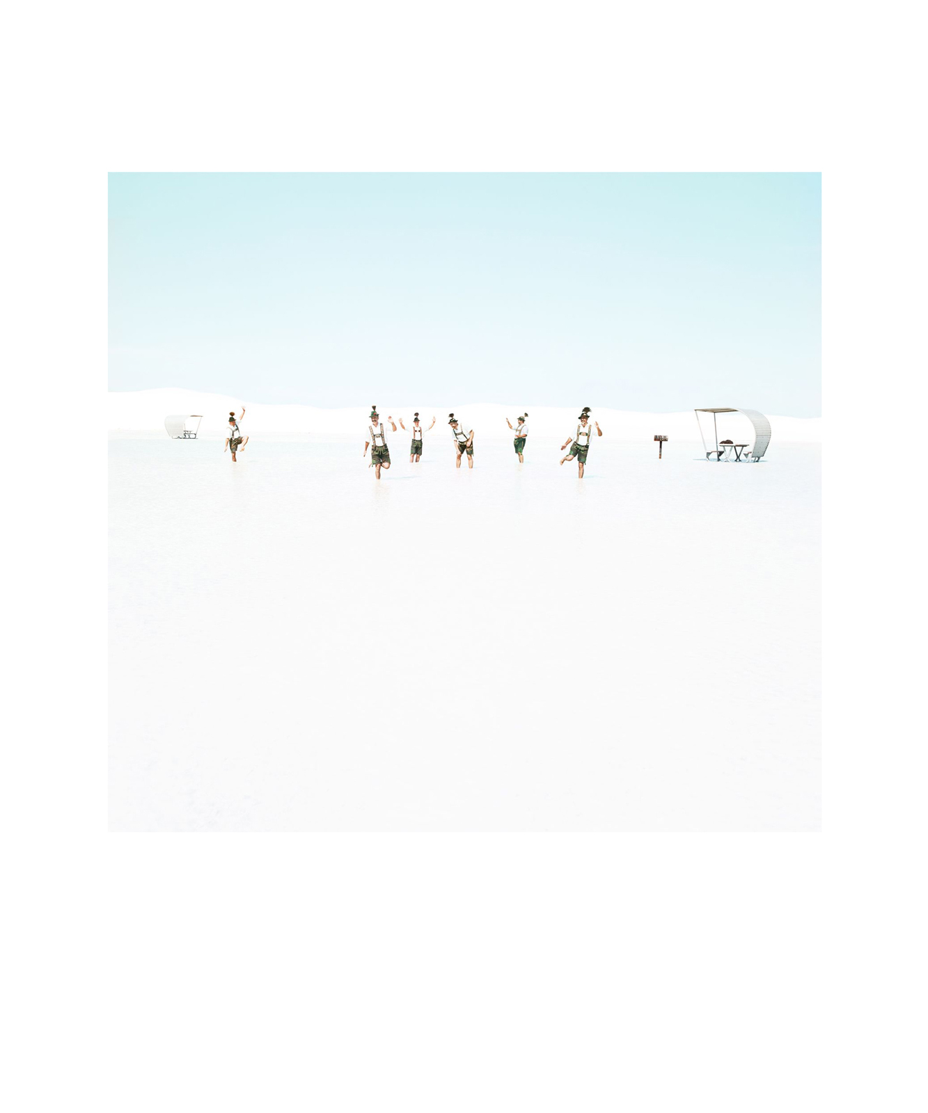 White Sands Beach #3 de Julia Christe