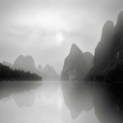 Li River, Guilin , Study 2 von Jonathan Chritchley