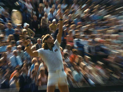 Björn Borg, Wimbledon by Jean-denis Walter Sport Collection