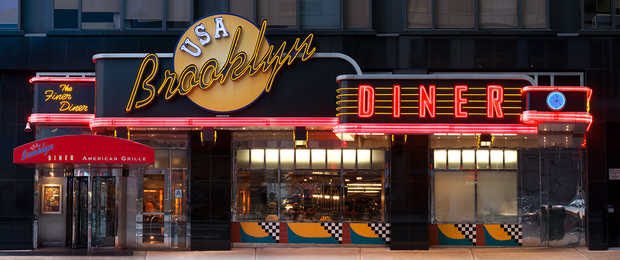Brooklyn Diner, Times Square - James & Karla Murray
