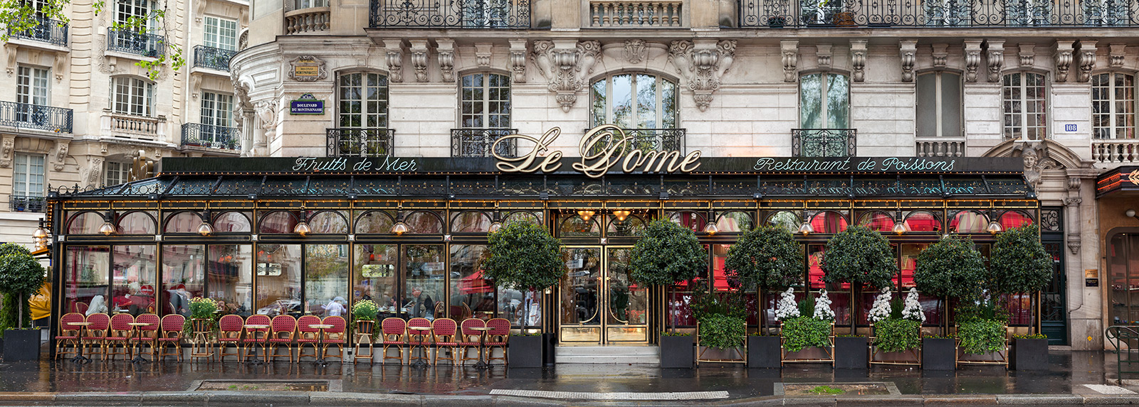 Le Dome, Paris by James & Karla Murray