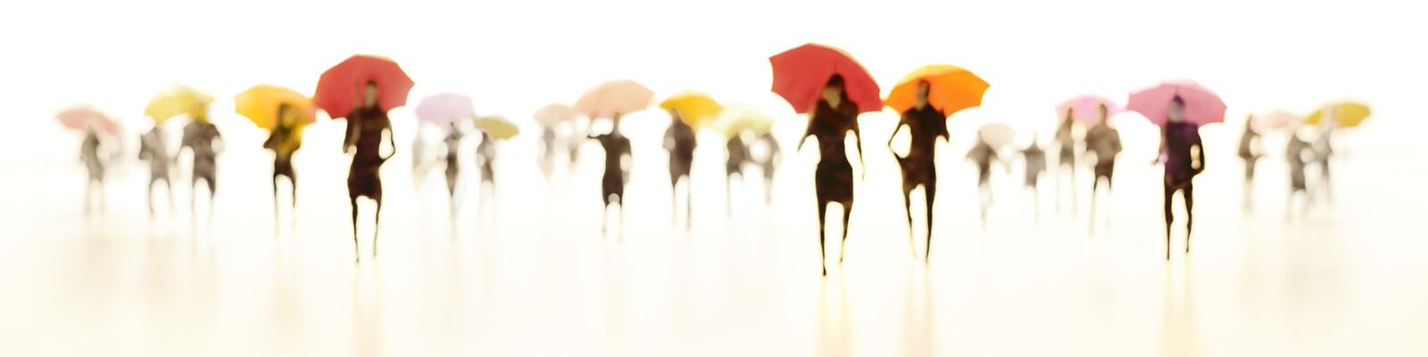 Umbrellas X - Joerg Maxzin