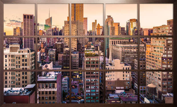 Sunset in Midtown NYC - Jack Marijnissen