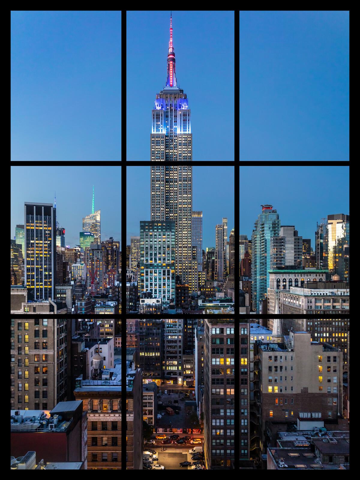 Manhattan at Sunset - Jack Marijnissen