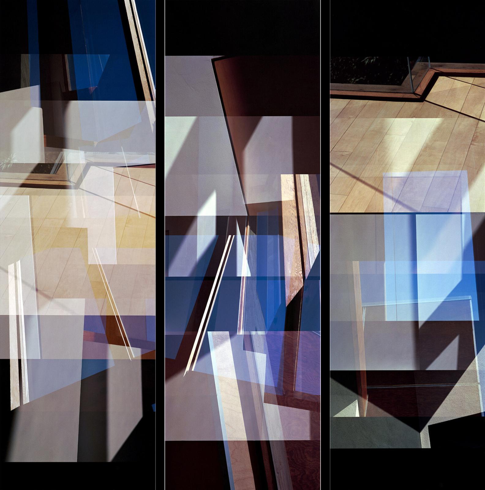Carmy House Floor Triptych - Jenny Okun