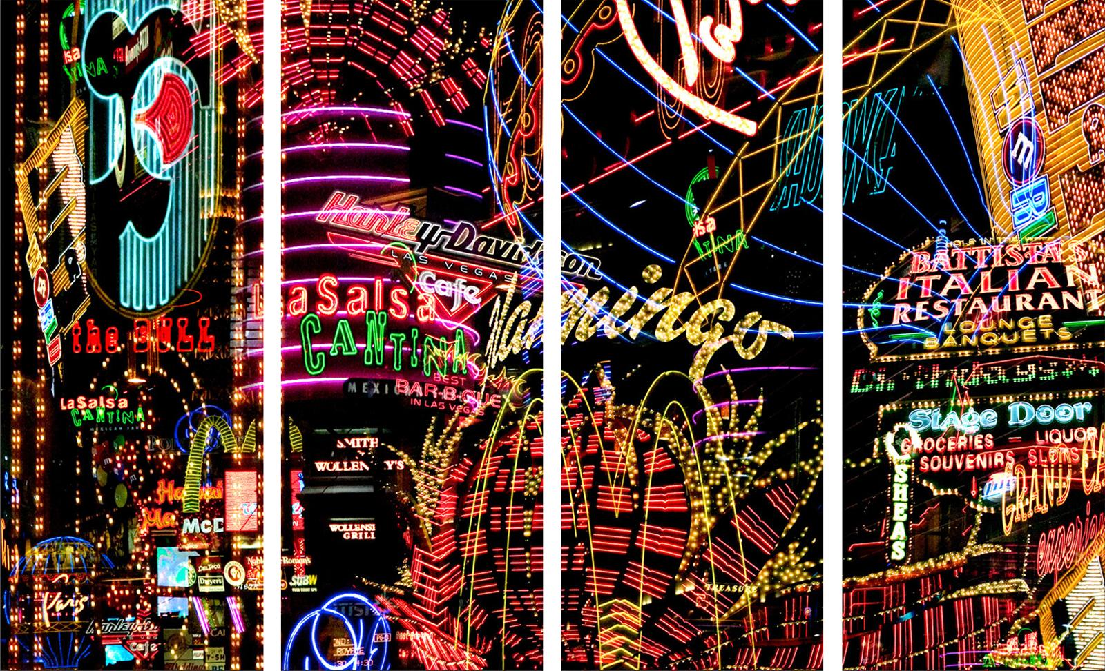 Las Vegas Lights Cantina Tetraptych - Jenny Okun