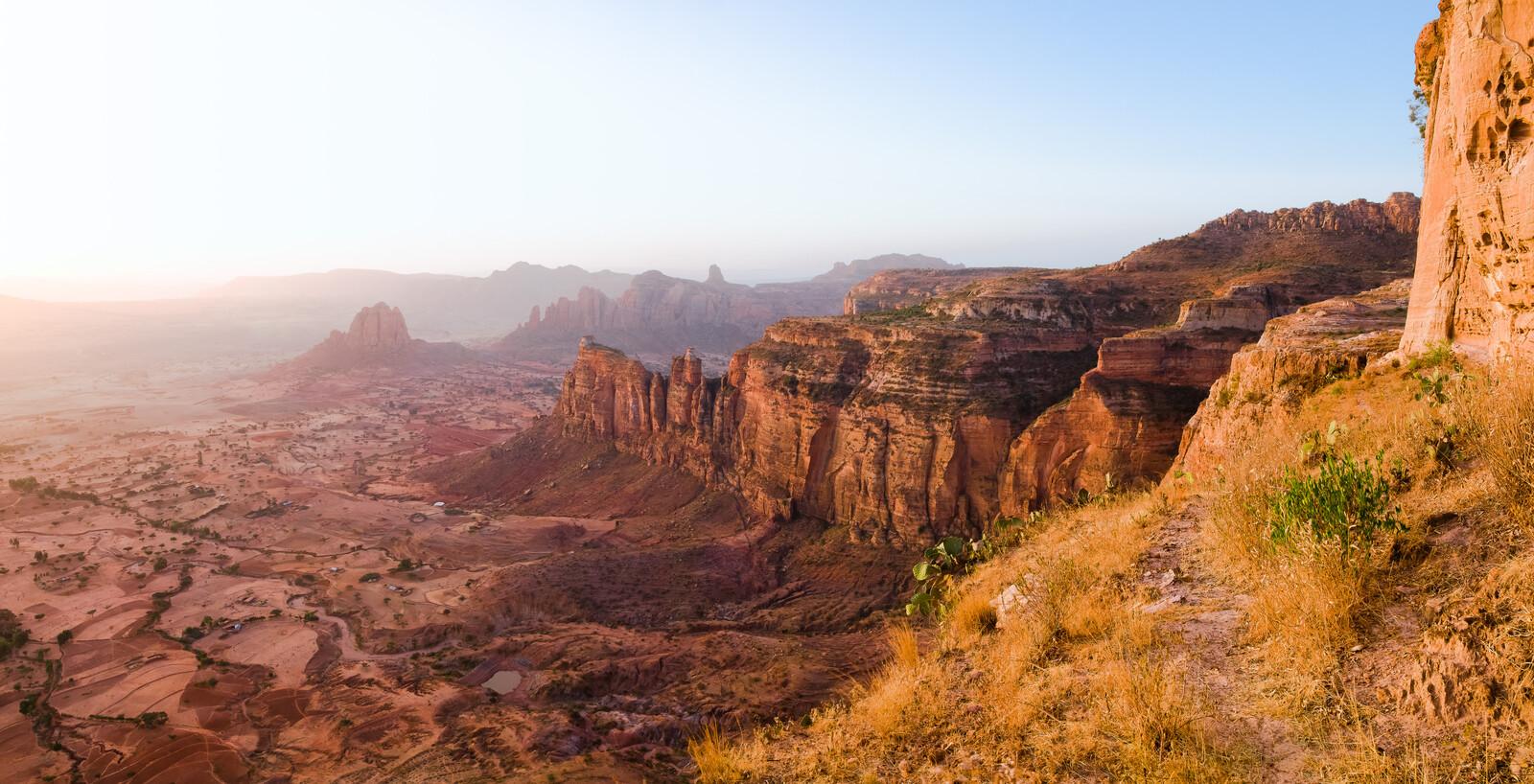 Blick von Daniel Korkor, Tigray, Äthiopien - Farin Urlaub