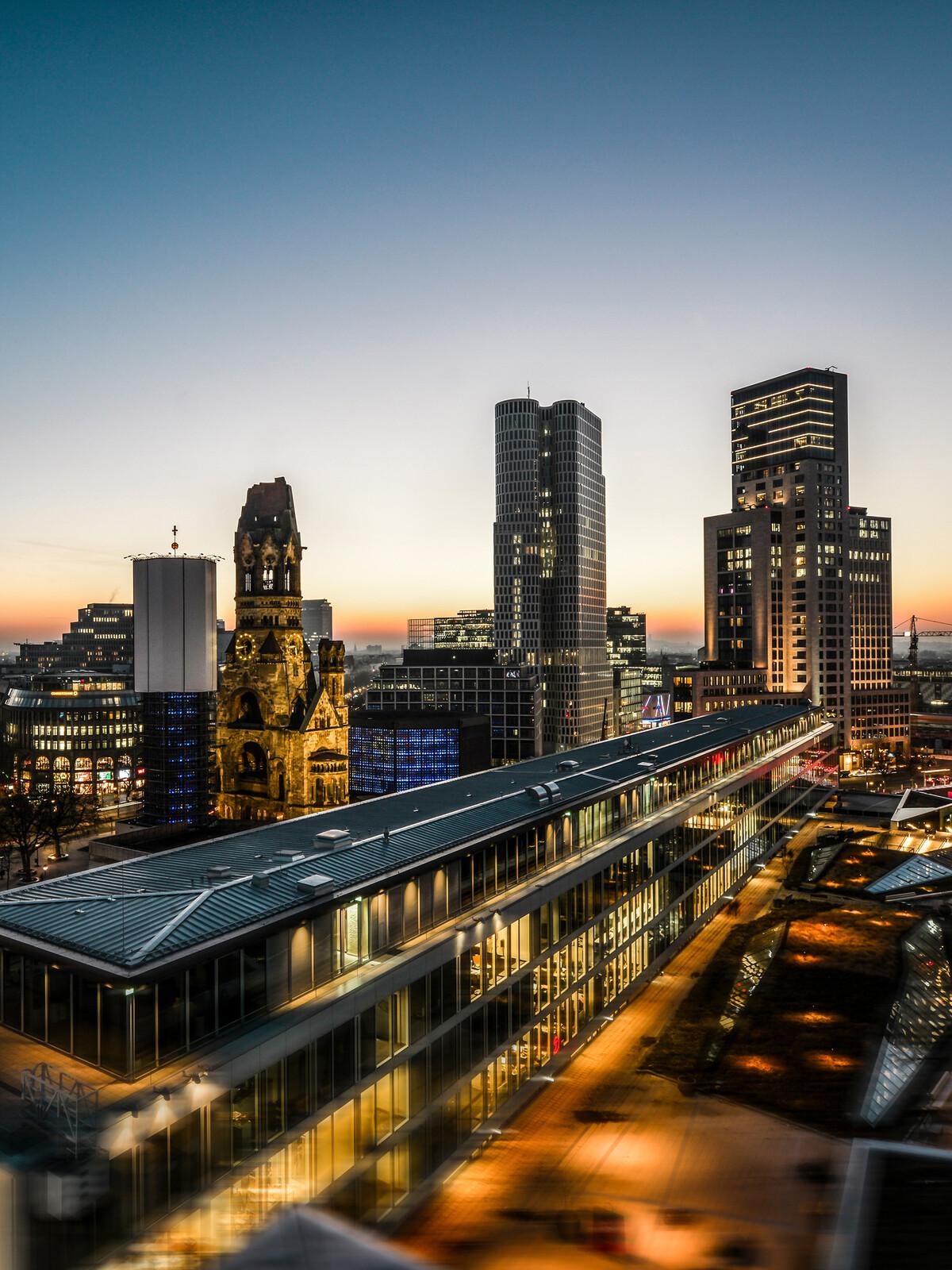 West Berlin Panorama Night - Johannes Weinsheimer