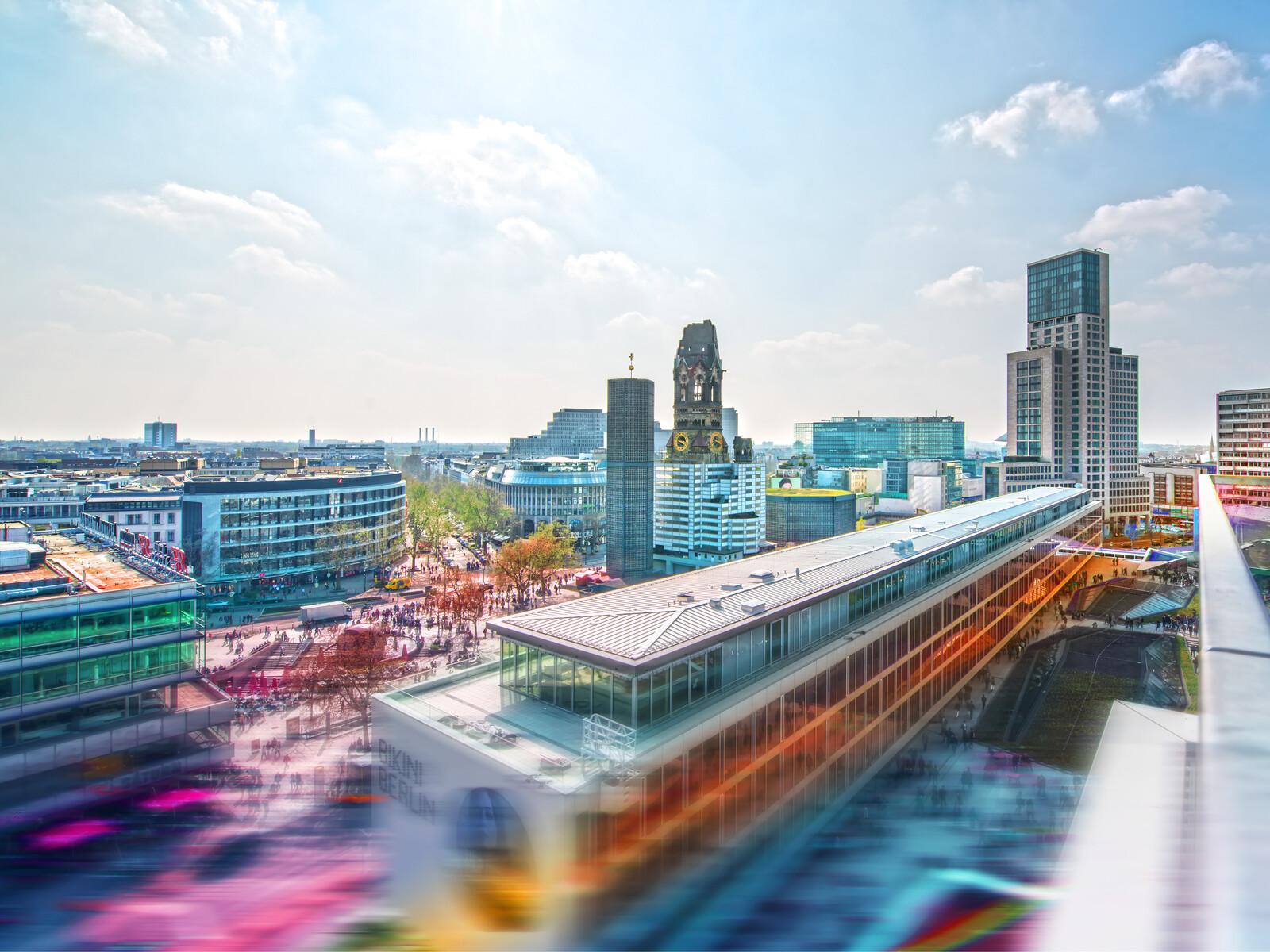 West Berlin Panorama - Johannes Weinsheimer