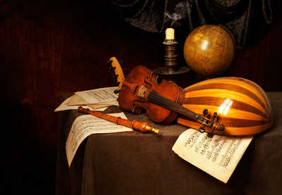 Musical Vanitas by Kevin Best