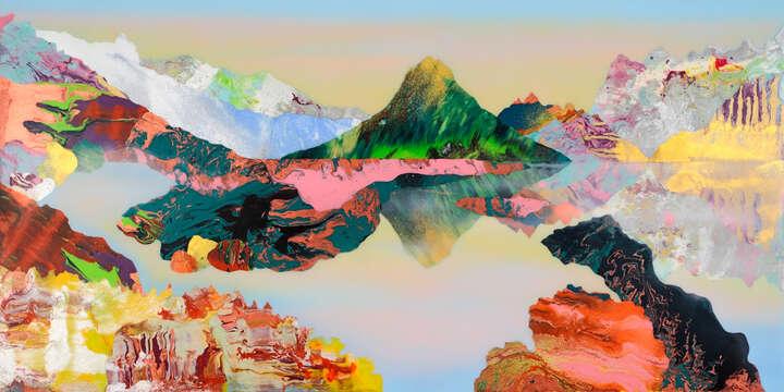 Fjallkonan, (mountain woman) von Kate Shaw