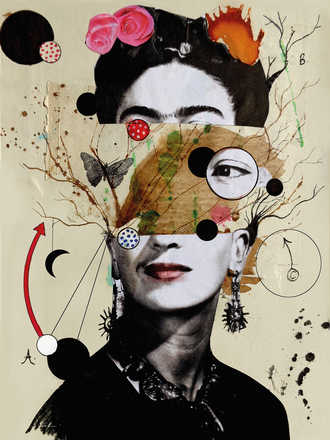 Deconstructed Frida - Loui Jover