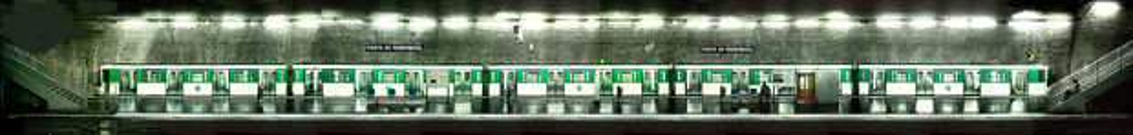 Porte de Montreuil, Line #9 - Larry Yust